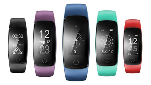 Willful Fitness Tracker sw333 with iOS and